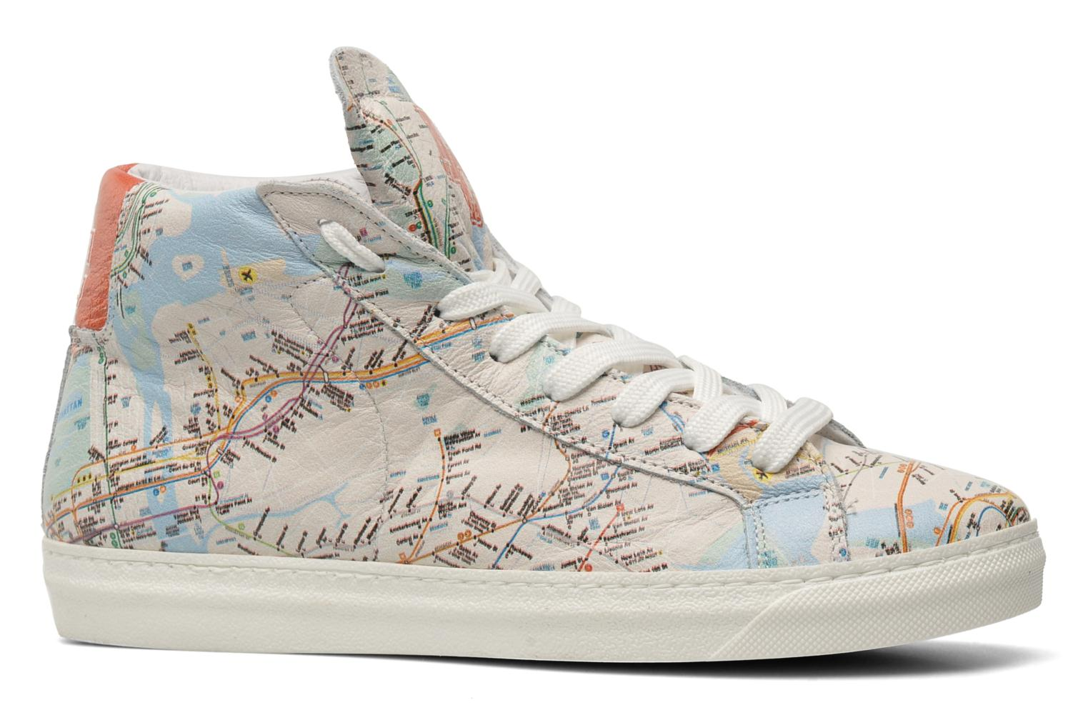Sneakers American College Urban style m Multicolor achterkant
