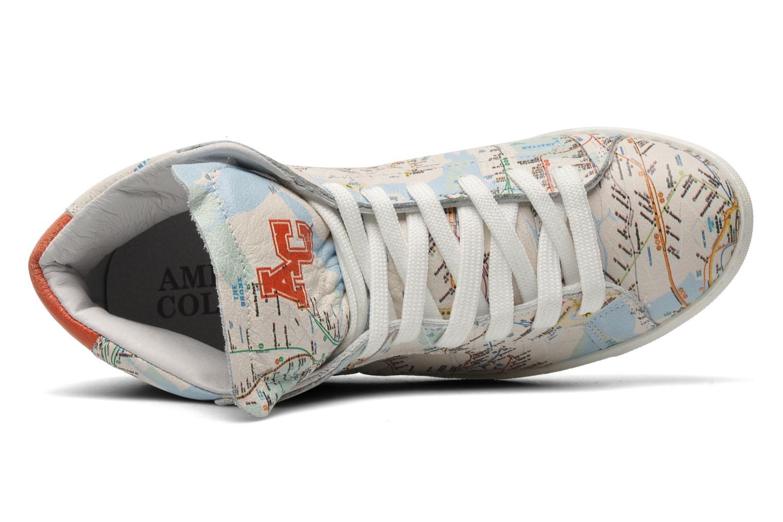 Sneaker American College Urban style m mehrfarbig ansicht von links