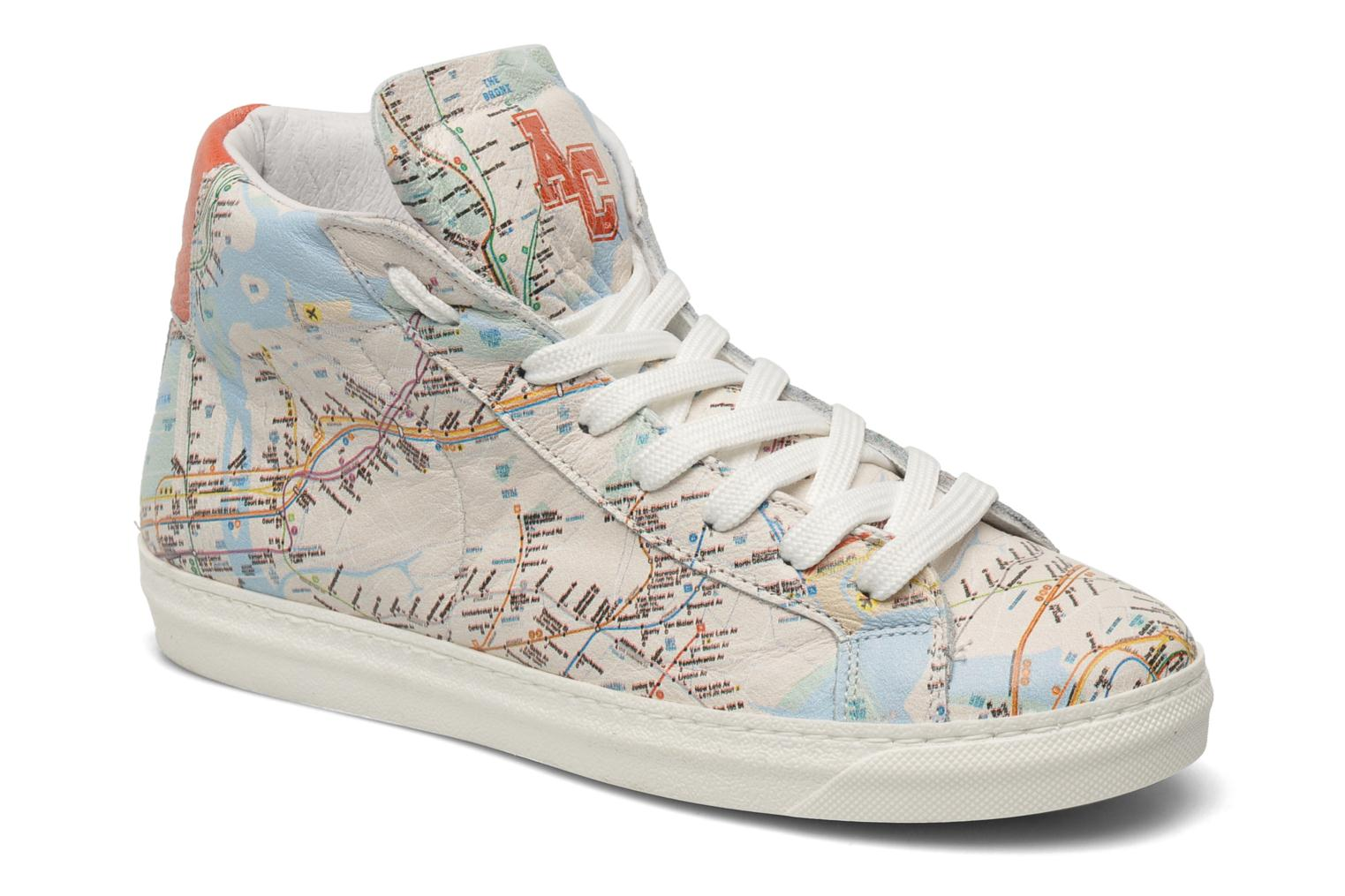 Baskets American College Urban style m Multicolore vue détail/paire