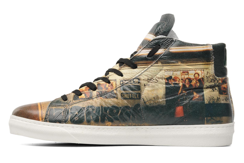 Sneaker American College Urban style m mehrfarbig ansicht von vorne