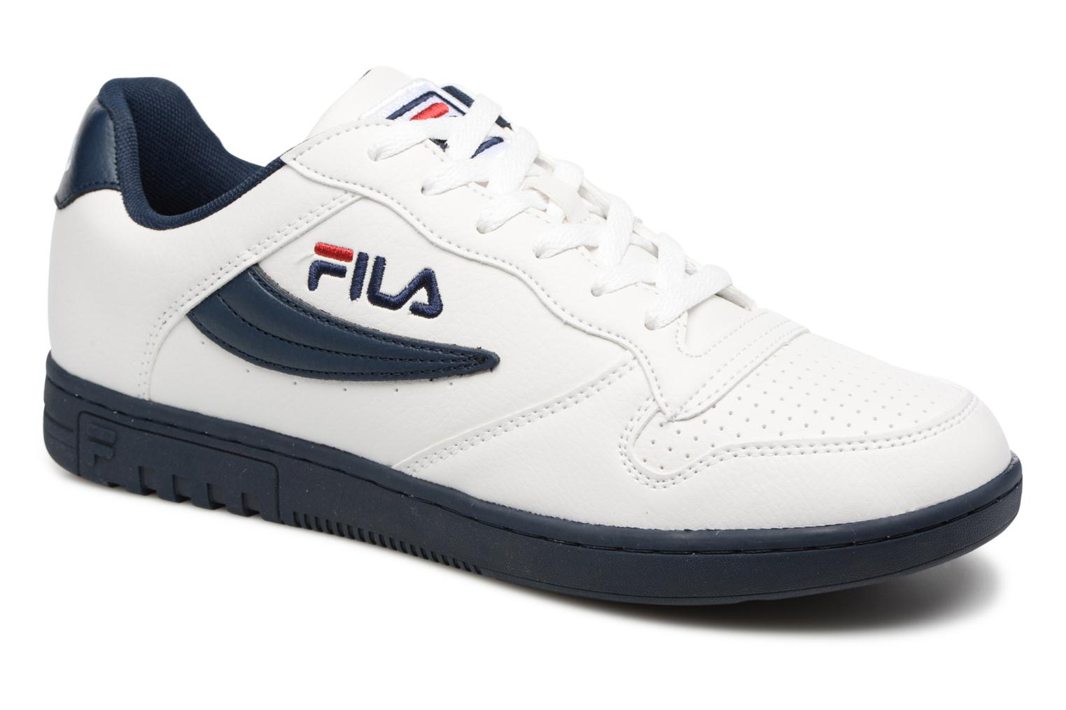Baskets FILA FX-100 Low Blanc vue détail/paire