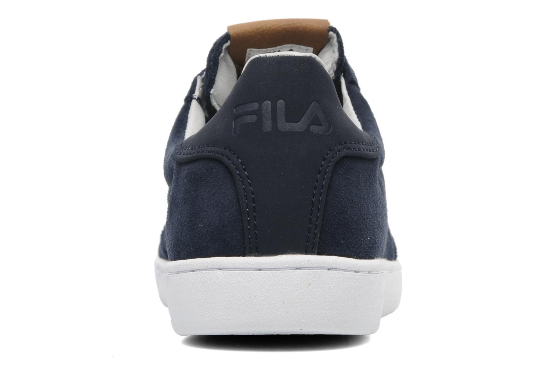 Sneakers FILA Portland Low Blauw rechts