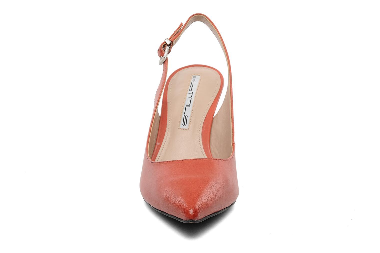Escarpins Studio TMLS Foxy Orange vue portées chaussures