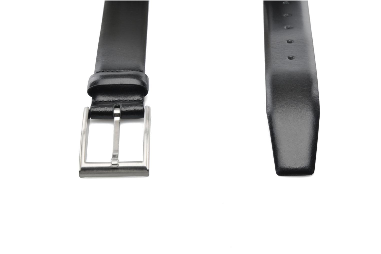 Gürtel Esprit Paul Leather Belt 35mm schwarz ansicht von links