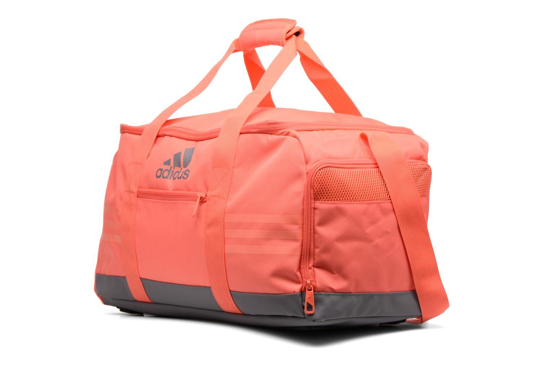 Sporttaschen Adidas Performance 3S Per TB S rosa schuhe getragen