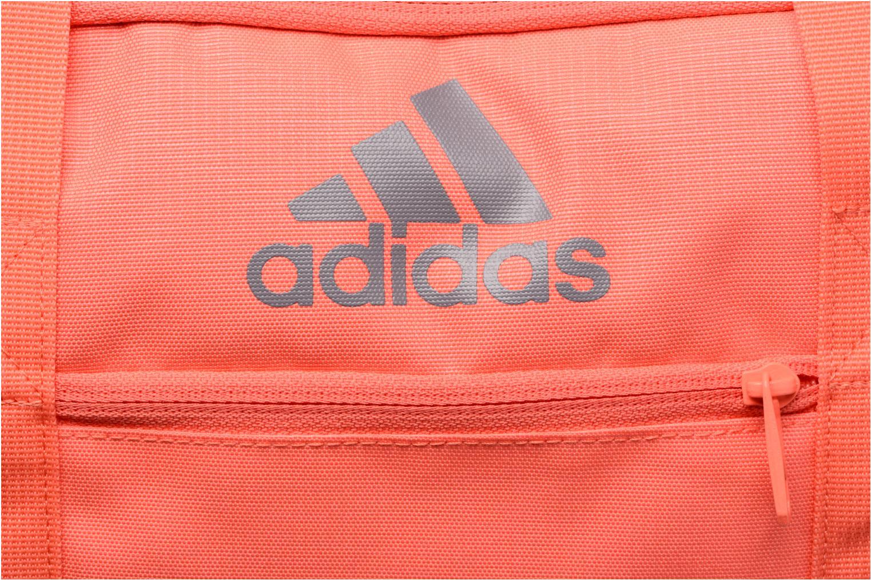 Sporttaschen Adidas Performance 3S Per TB S rosa ansicht von links