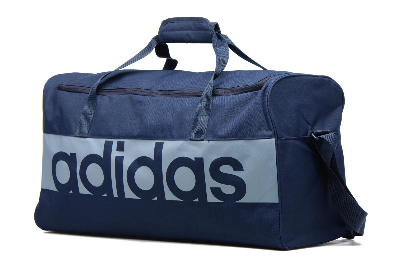 Sporttaschen Adidas Performance Lin Per TB M blau schuhe getragen