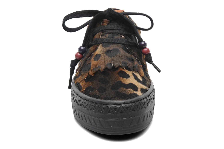 Baskets Dolfie tom Multicolore vue portées chaussures