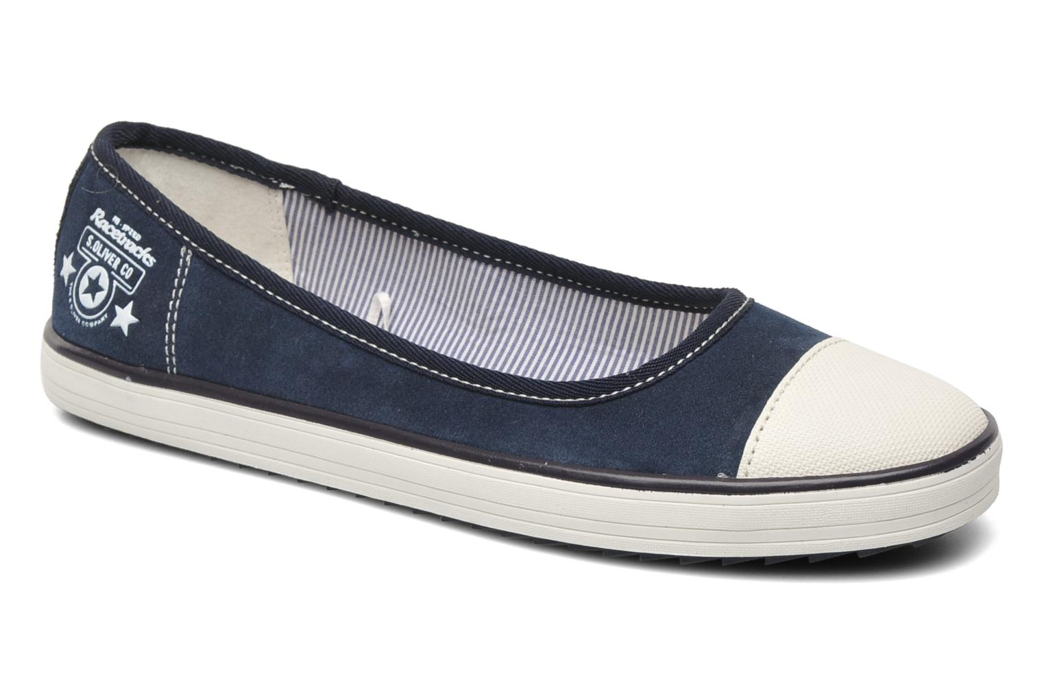 Ballet pumps S.Oliver Scolla Blue detailed view/ Pair view