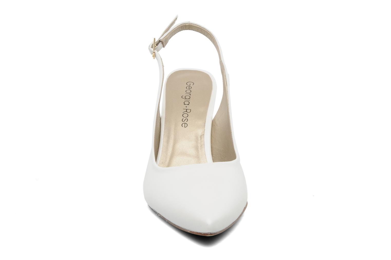 Escarpins Georgia Rose Laos CFT Blanc vue portées chaussures