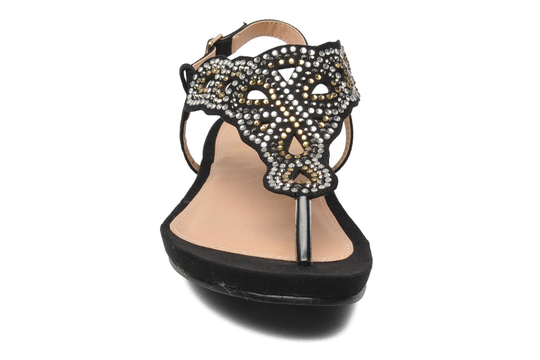 Sandalias La Strada Perugina Negro vista del modelo