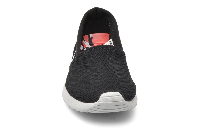 Sneaker Nike Wmns Nike Rosherun Slip schwarz schuhe getragen