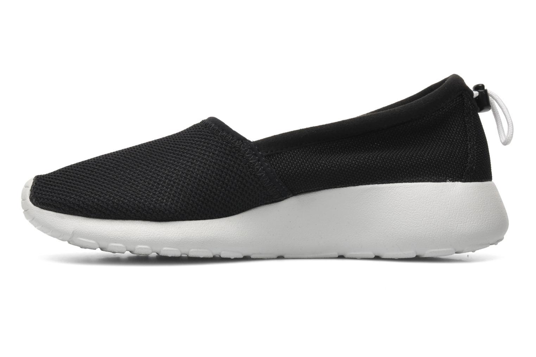 Sneaker Nike Wmns Nike Rosherun Slip schwarz ansicht von vorne