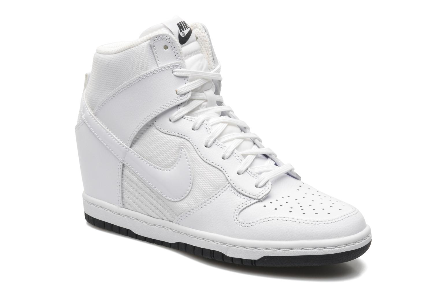Wmns Dunk Sky Hi Essential White/white-Black