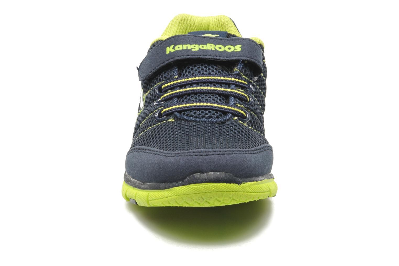 Baskets Kangaroos Nuri-Combo Bleu vue portées chaussures