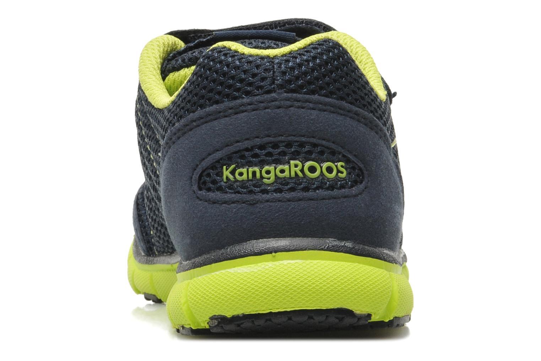 Baskets Kangaroos Nuri-Combo Bleu vue droite