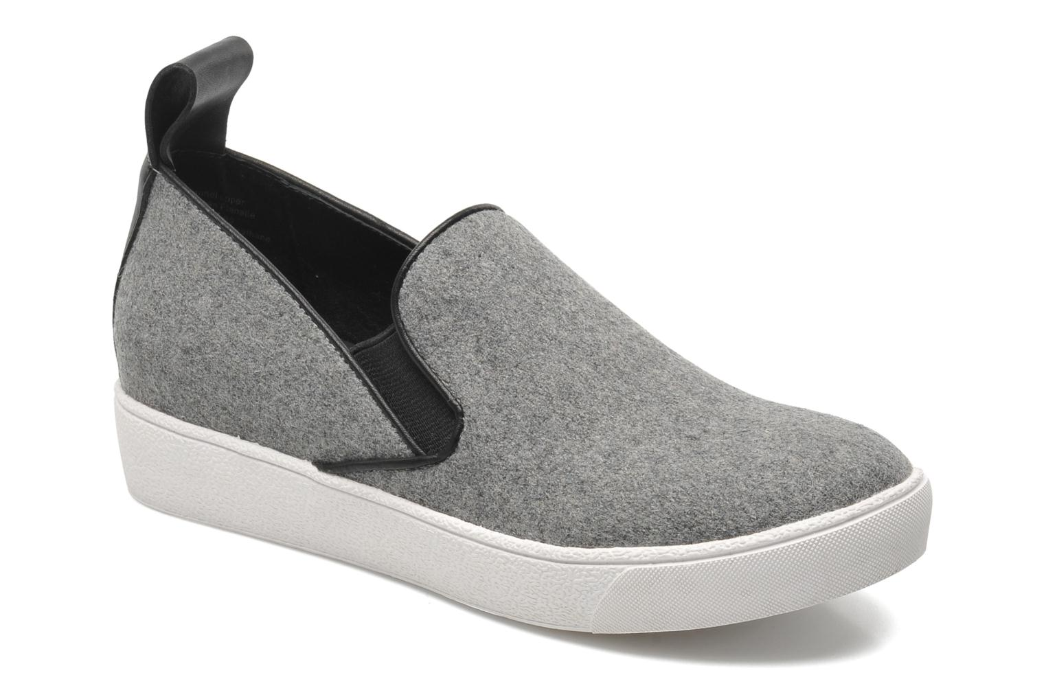 Trainers Shellys London Sarazen Grey detailed view/ Pair view