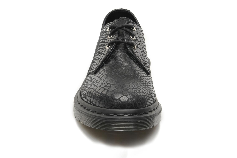 Schnürschuhe Dr. Martens Tahan schwarz schuhe getragen