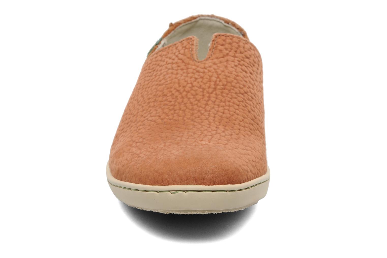 Mocassins El Naturalista Estratos N359 Orange vue portées chaussures