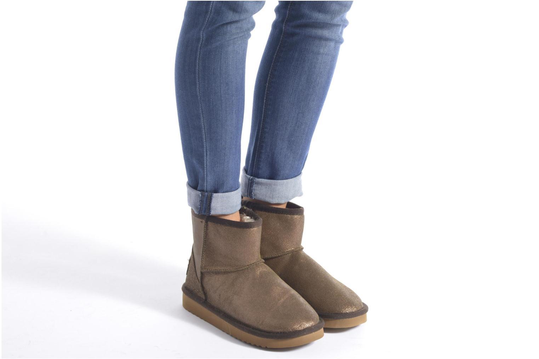Bottines et boots DUDE Sella Marron vue bas / vue portée sac