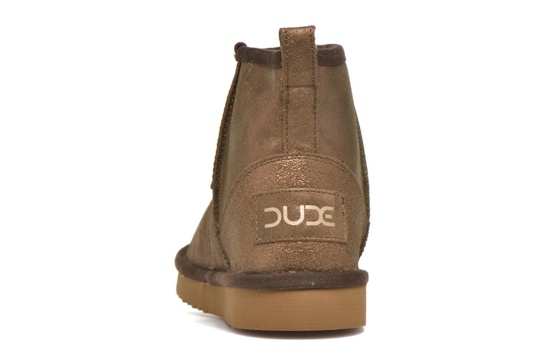Bottines et boots DUDE Sella Marron vue droite