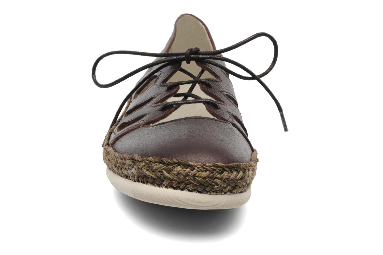 Sandales et nu-pieds El Naturalista Believer Dani N850 Marron vue portées chaussures