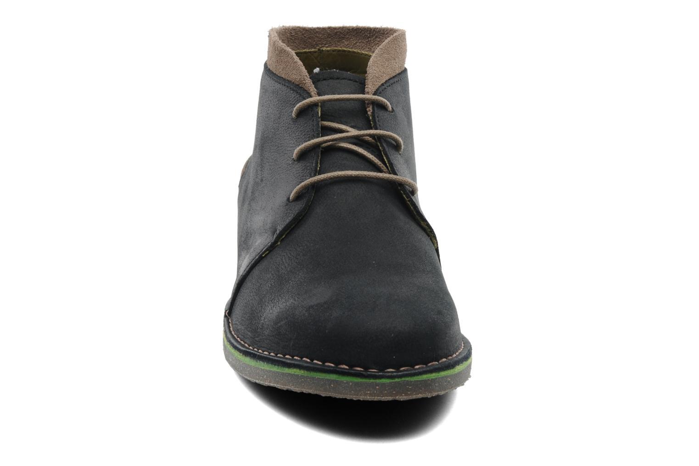 Chaussures à lacets El Naturalista Evolve NC42 Noir vue portées chaussures