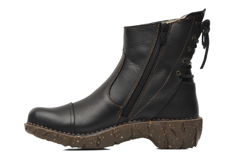 Bottines et boots El Naturalista Yggdrasil N148 Noir vue face