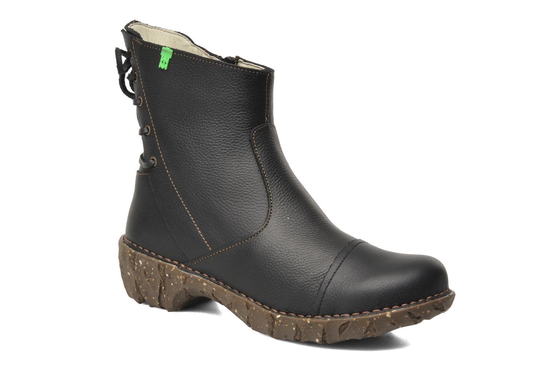 Zapatos Zapatos Zapatos especiales para hombres y mujeres El Naturalista Yggdrasil N148 (Negro) - Botines  en Más cómodo be0967