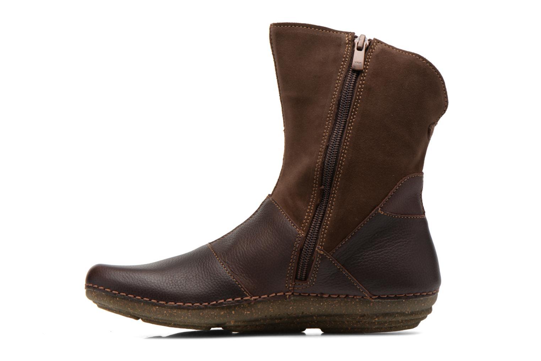 Boots en enkellaarsjes El Naturalista Torcal N329 Bruin voorkant