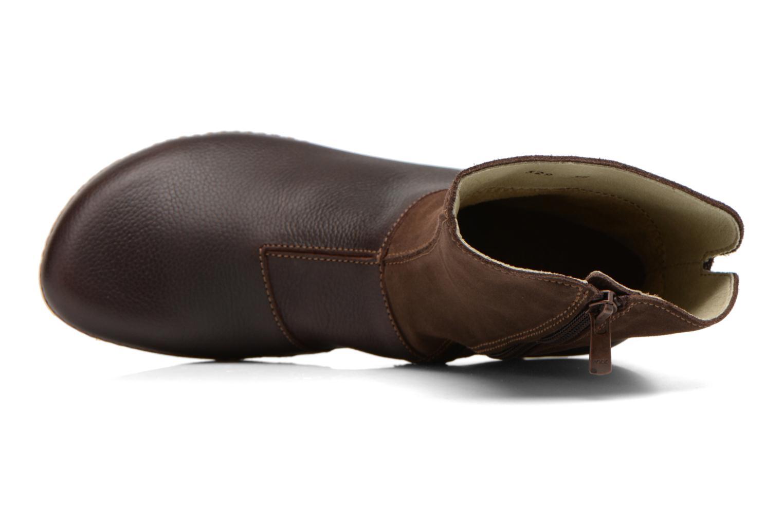 Boots en enkellaarsjes El Naturalista Torcal N329 Bruin links