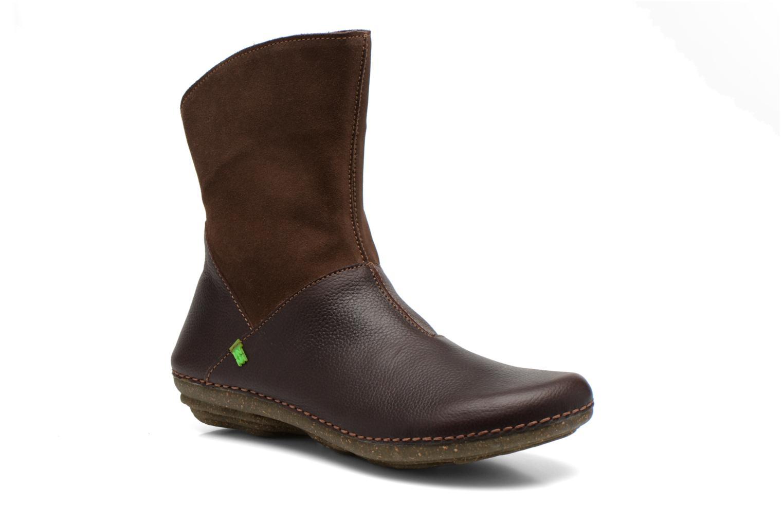Boots en enkellaarsjes El Naturalista Torcal N329 Bruin detail