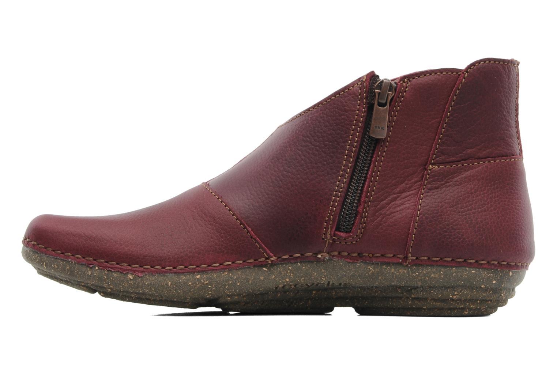 Boots en enkellaarsjes El Naturalista Torcal N306 Bordeaux voorkant