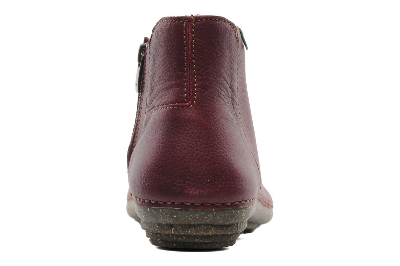 Boots en enkellaarsjes El Naturalista Torcal N306 Bordeaux rechts