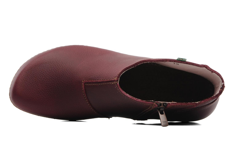 Boots en enkellaarsjes El Naturalista Torcal N306 Bordeaux links