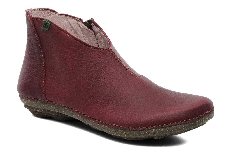 Boots en enkellaarsjes El Naturalista Torcal N306 Bordeaux detail