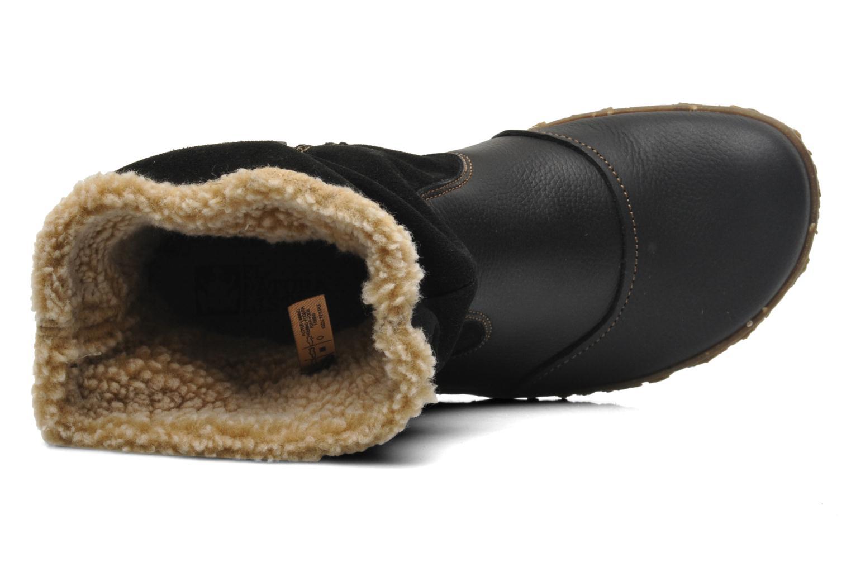 Nido Ella N758 Black soft grain luxe suede