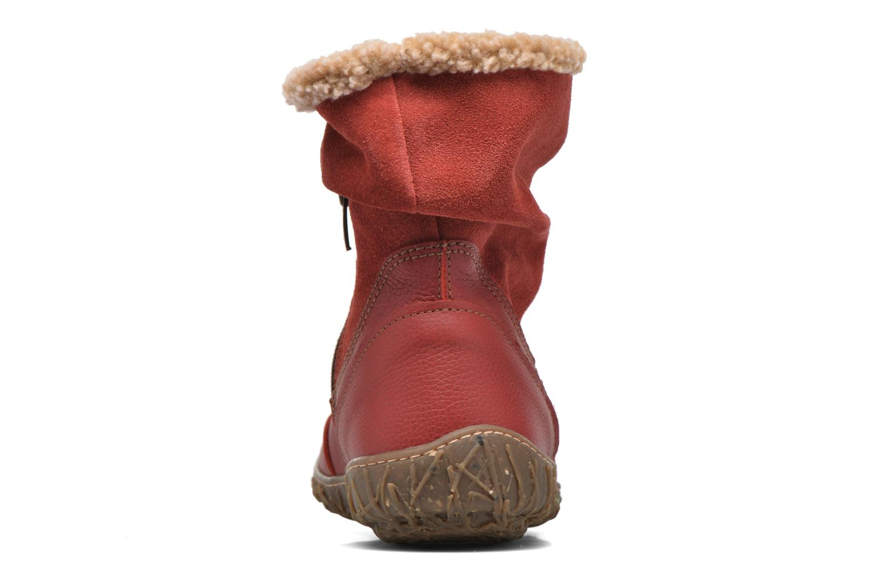 Bottines et boots El Naturalista Nido Ella N758 Rouge vue droite