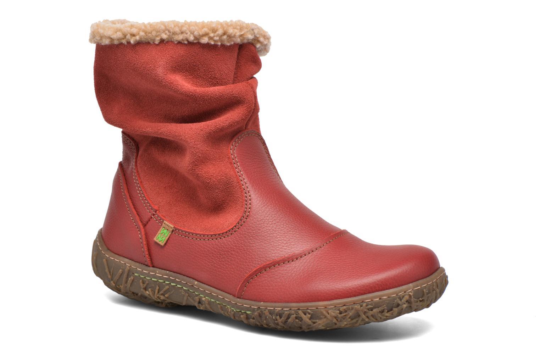 Bottines et boots El Naturalista Nido Ella N758 Rouge vue détail/paire