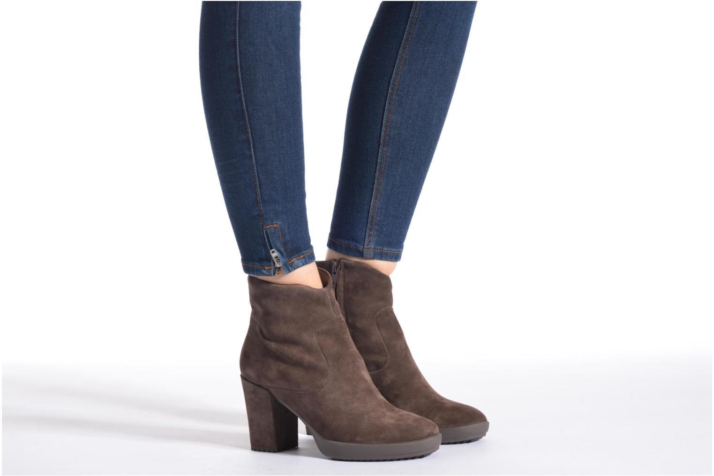 Bottines et boots Stonefly Oxy 3 Gris vue bas / vue portée sac