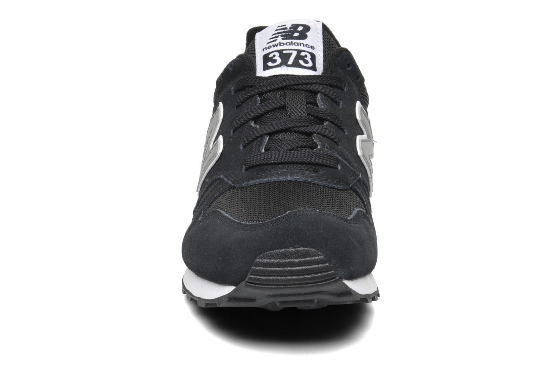 Sneaker New Balance M373 schwarz schuhe getragen