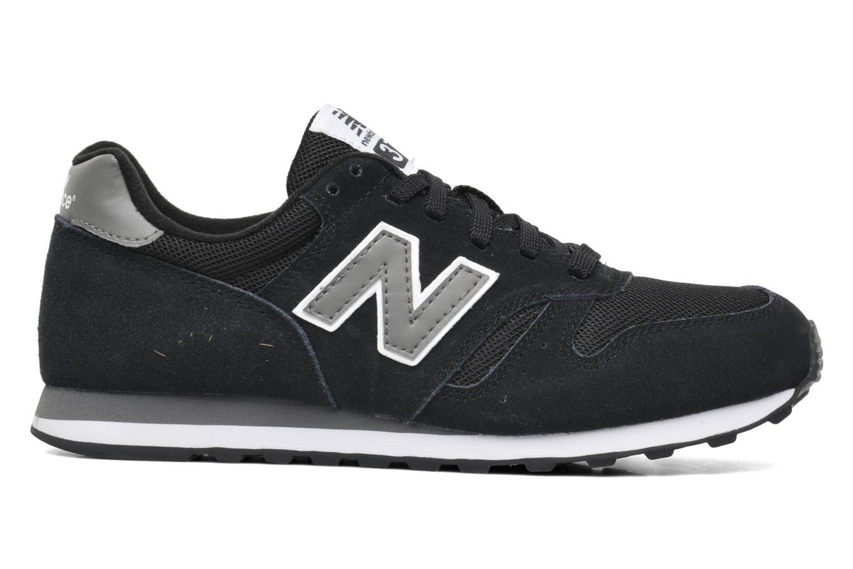 Sneaker New Balance M373 schwarz ansicht von hinten