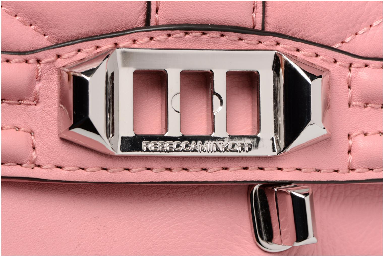 Sacs à main Rebecca Minkoff Love Crossbody Rose vue gauche