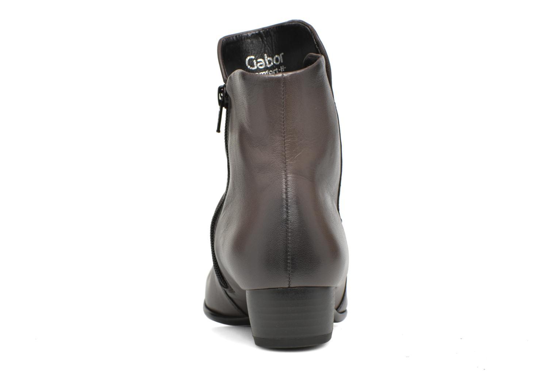 Bottines et boots Gabor Lina Marron vue droite