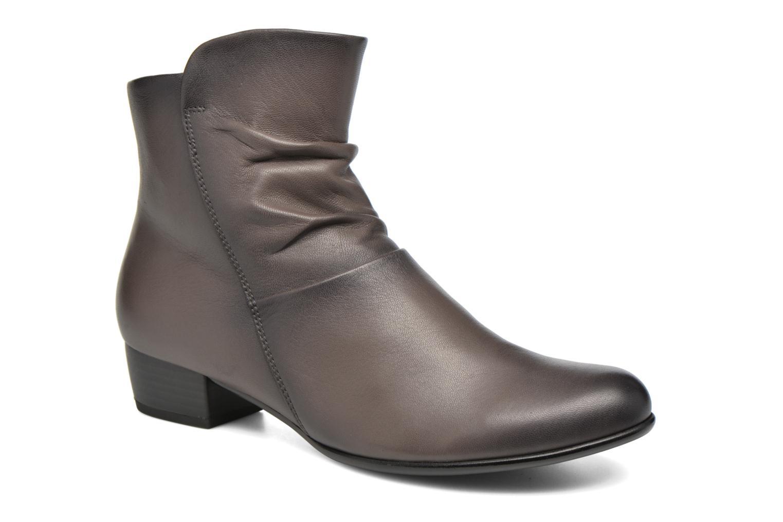 Bottines et boots Gabor Lina Marron vue détail/paire