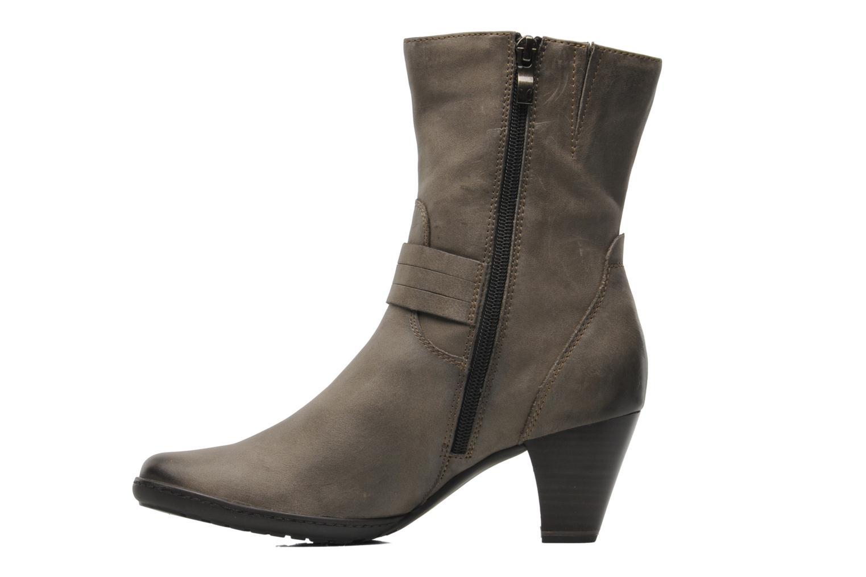 Boots en enkellaarsjes Caprice Janetti Bruin voorkant