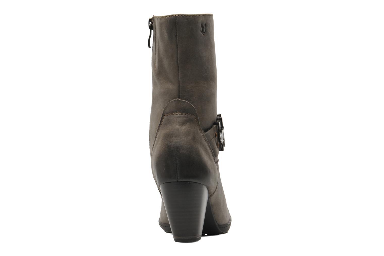 Boots en enkellaarsjes Caprice Janetti Bruin rechts