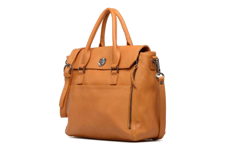 Handtassen Sabrina Charlotte Geel model