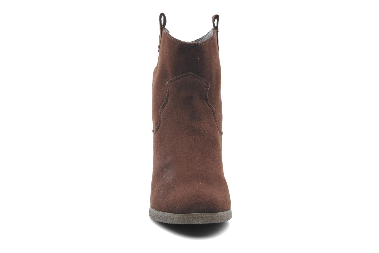 Bottines et boots Derhy Crawl Marron vue portées chaussures