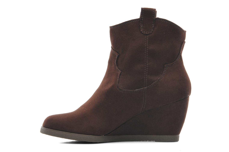 Bottines et boots Derhy Crawl Marron vue face
